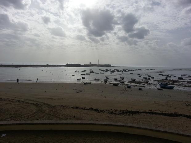 Am Strand von Cadiz