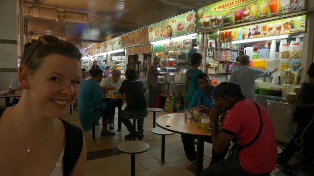 Mittagessen im Food Court