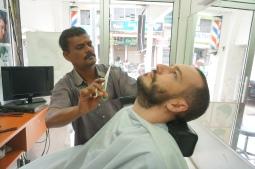 Einmal Bart trimmen