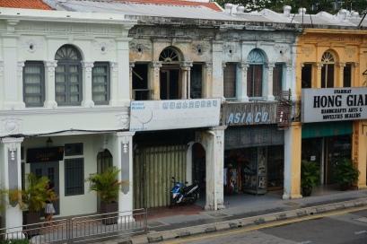 Typischer Baustil in George Town