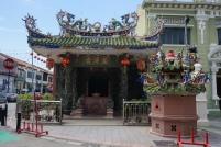und Buddhisten leben gemeinsam in George Town