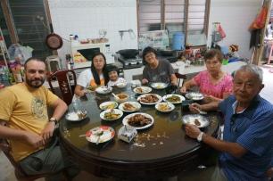 Mittagessen mit Liews Familie
