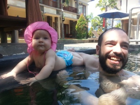 Spaß im Pool