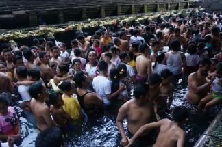 Massenreinigung im Tempel Nummer 1