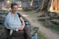 Stillen in Angkor Wat - kein Problem