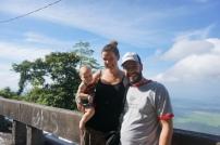 Auf dem Berg Gunung Raya